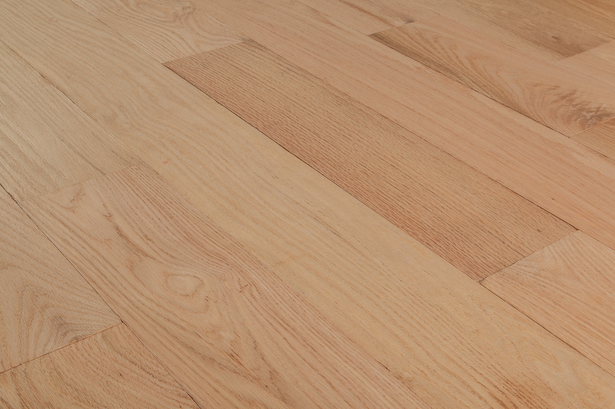 Tungston hardwood unfinished oak red oak select 7 for Unfinished oak flooring