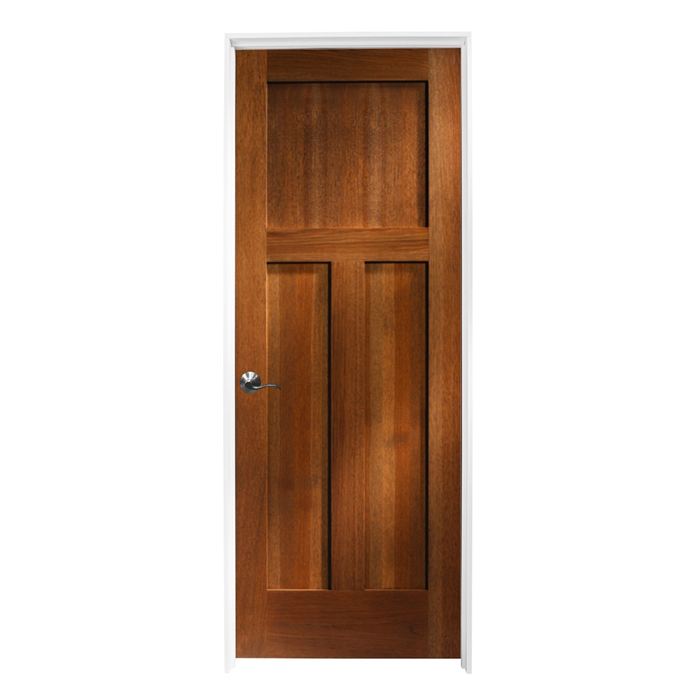 Woodport Doors Interior Doors Knock Down Shaker Collection Riverstone Hickory 30 X80