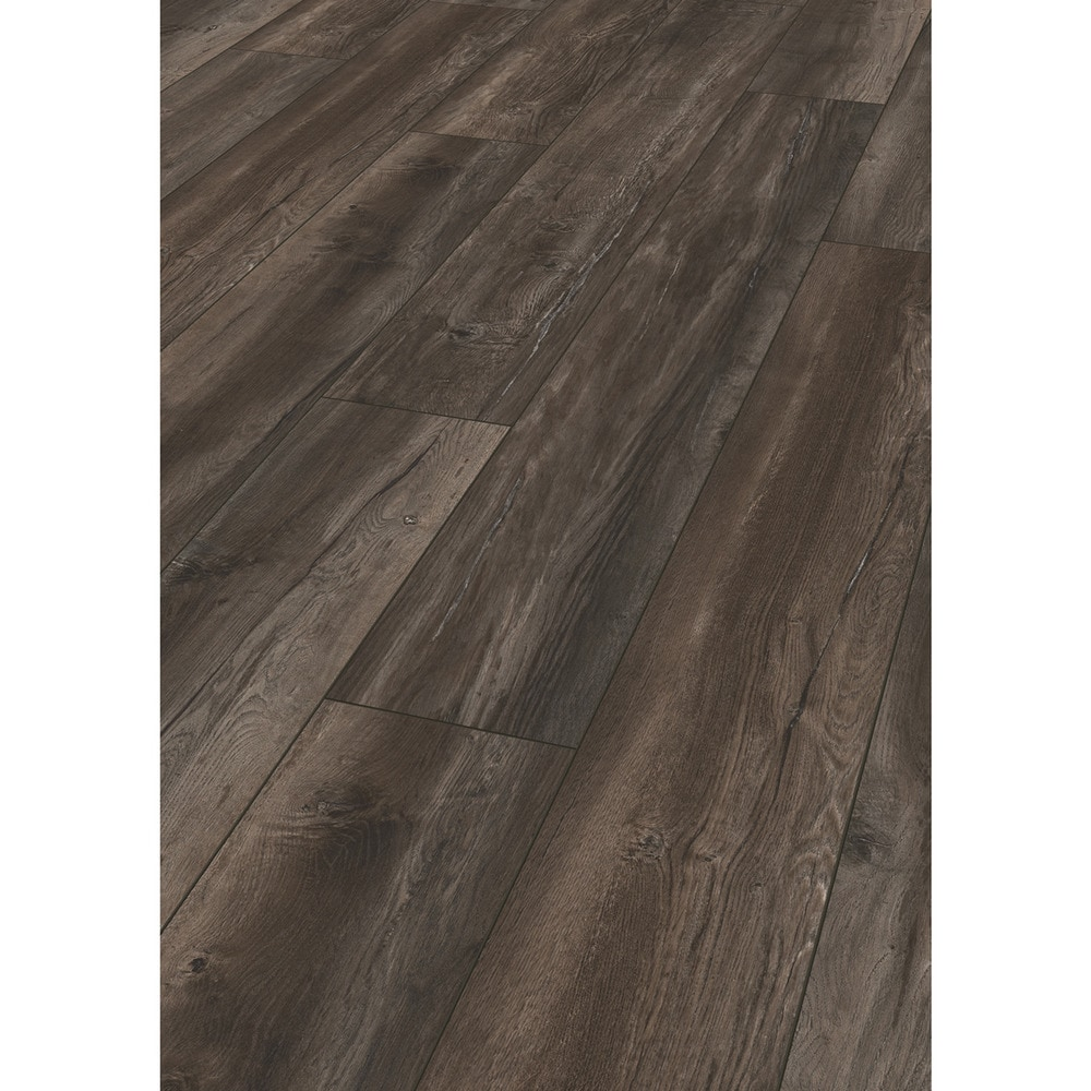 Kronotex laminate robusto 12 mm collection harbour oak dark for Robusto laminate flooring