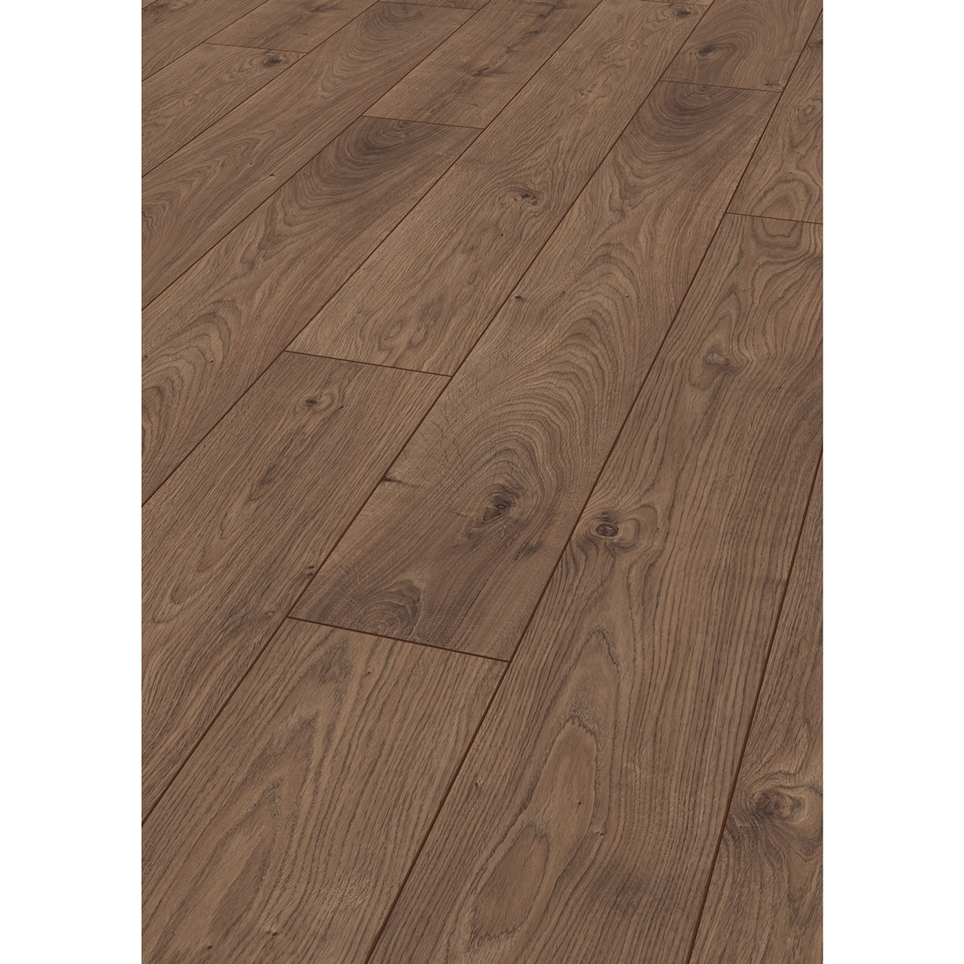 Kronotex laminate robusto 12 mm collection atlas oak coffee for Robusto laminate flooring