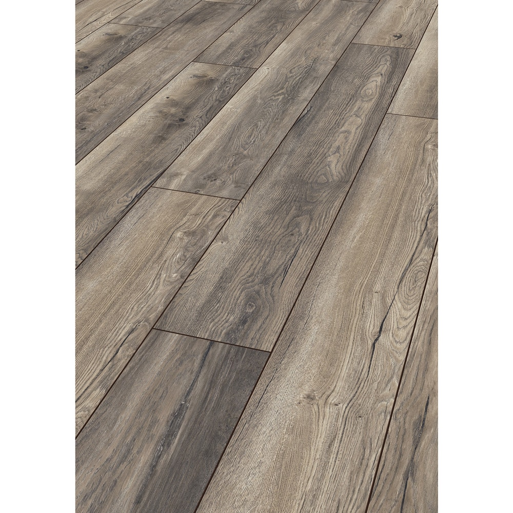 kronotex laminate my floor villa 12 mm collection harbour oak grey. Black Bedroom Furniture Sets. Home Design Ideas