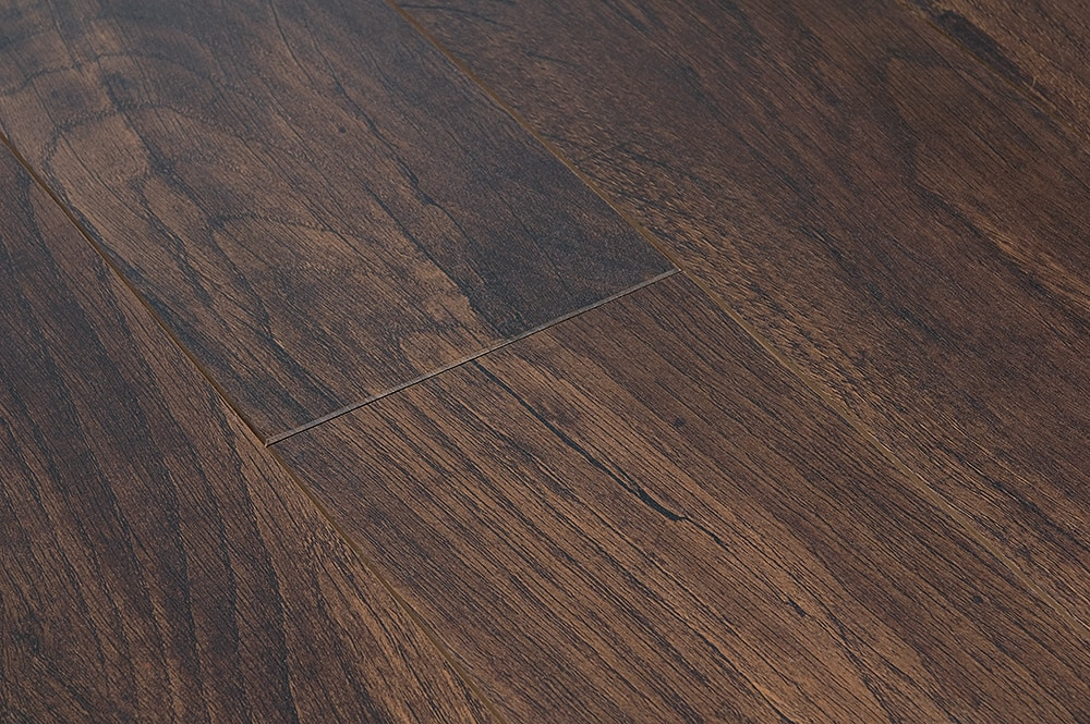 Free samples toklo laminate 12mm acacia collection dark for Walnut laminate flooring