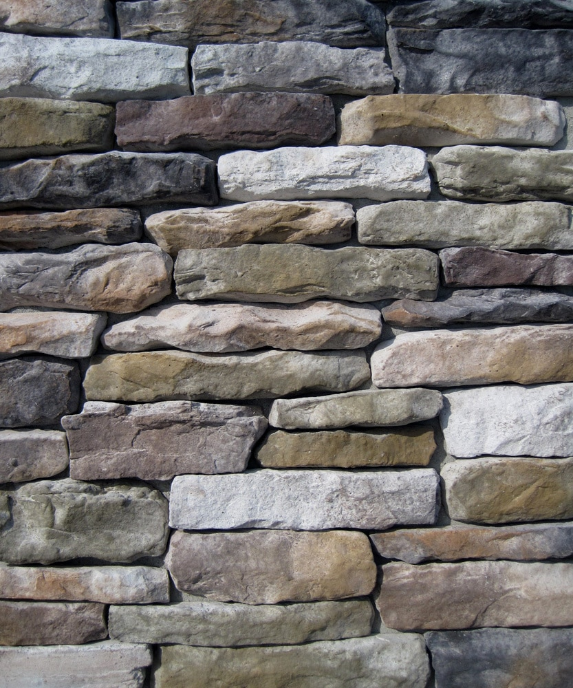 Free samples black bear pallets manufactured stone for Manufactured veneer stone