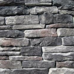 Black Bear Manufactured Stone Ledge Stone Model 101006901 Manufactured Stone Veneer