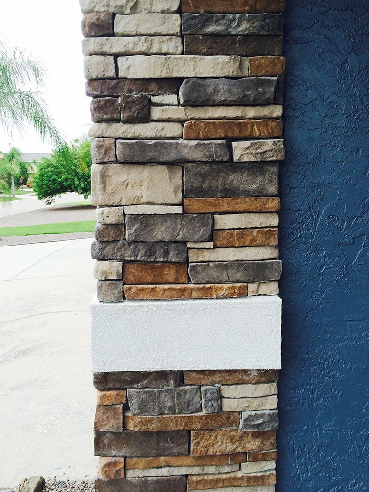 - Ozark / Stacked Stone 10 sq ft Flat - sku:10098954