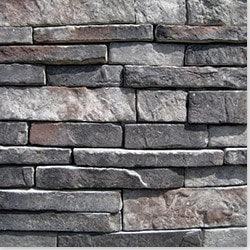 Black Bear Manufactured Stone Southern Stacked Stone Model 100989481 Manufactured Stone Veneer