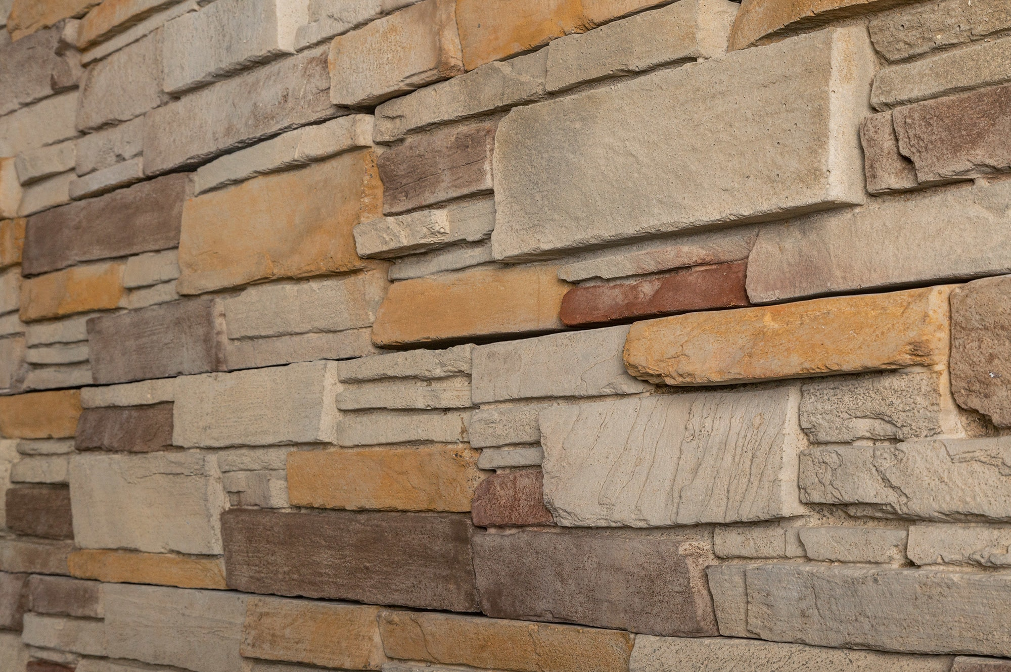 Black bear pallets manufactured stone stack n tack for Manufactured veneer stone