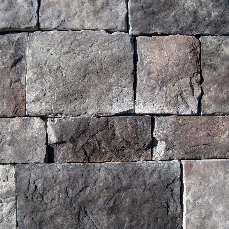 Building Stone Veneer : Black bear pallets manufactured stone hackett midnight