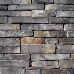 Black Bear Manufactured Stone Southern Stacked Stone Model 101007131 Manufactured Stone Veneer