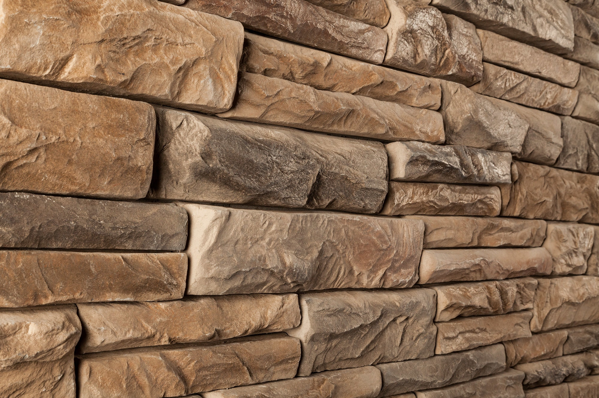 M rock individual stone bear mountain angle for Manufactured veneer stone