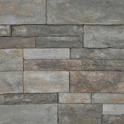 StrongSide Manufactured Stone Mortarless Light Ledge Stone Siding Model 101090801 Manufactured Stone Veneer