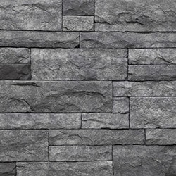 StrongSide Manufactured Stone Mortarless Light Ledge Stone Siding Model 101090811 Manufactured Stone Veneer