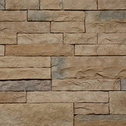 StrongSide Manufactured Stone Mortarless Light Ledge Stone Siding Model 101090821 Manufactured Stone Veneer