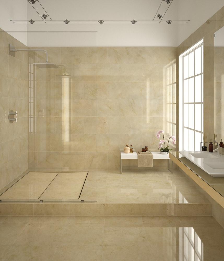 """- Spanish Crema Marfil Premium Select / 18""""x18"""" / Polished - sku:15001920"""
