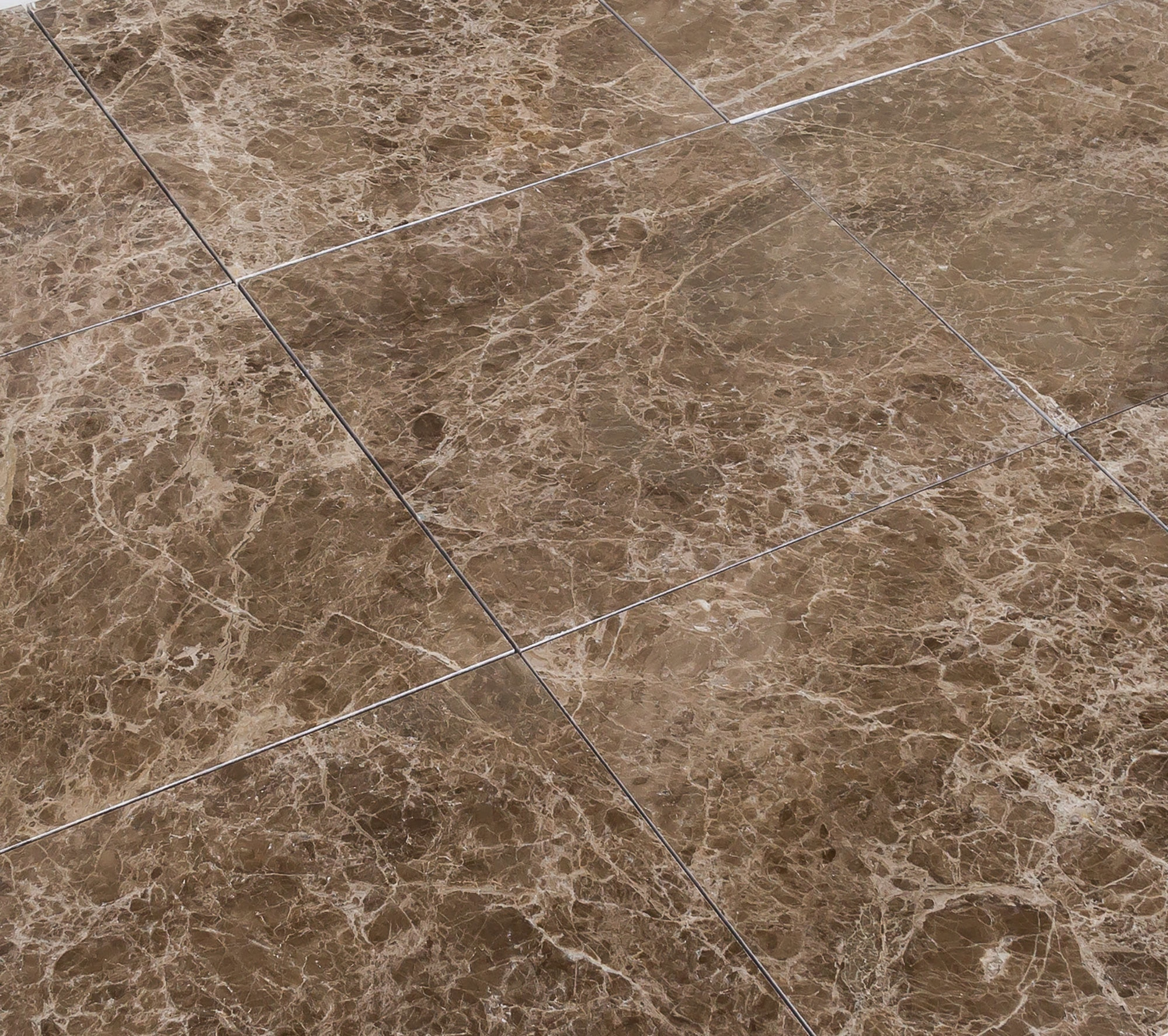 Troya Marble Tile Emperador Brown 18 Quot X18 Quot Polished