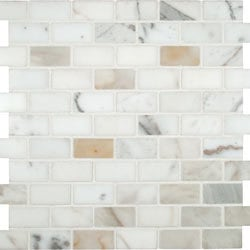 Cabot Marble Mosaic Carrara Marble Series Type 100865491 Kitchen Stone Mosaics in Canada