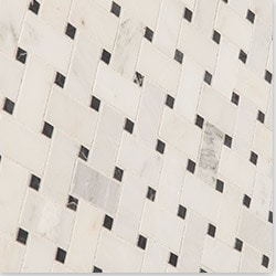 Cabot Marble Mosaic Carrara Marble Series Type 100865221 Kitchen Stone Mosaics in Canada