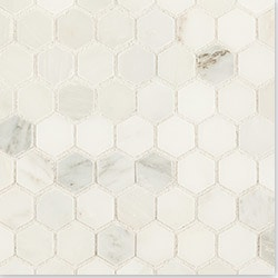 Cabot Marble Mosaic Carrara Marble Series Type 100864661 Kitchen Stone Mosaics in Canada