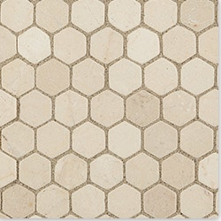 Cabot Marble Mosaic Crema Marfil Marble Series Type 100883271 Kitchen Stone Mosaics in Canada