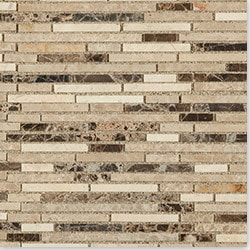 Cabot Marble Mosaic Emperador Marble Series Model 100871081 Kitchen Stone Mosaics