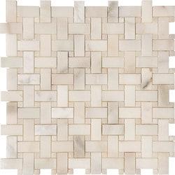 Marbletiledirect CALACATTA VERDE BASKETWEAVE MOSAICS Model 150950911 Kitchen Stone Mosaics