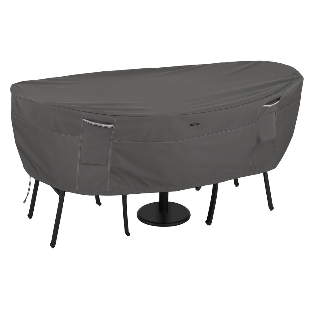 Classic accessories covers ravenna patio furniture set for Outdoor patio furniture covers