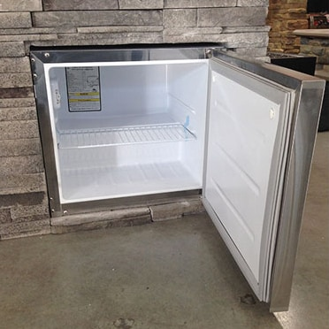 Broilchef stainless steel refrigerators stainless steel for Outdoor kitchen refrigerators built in
