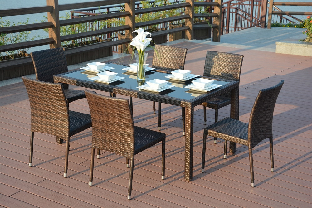 - Emily - 7 Piece Dining Set - sku:15002880