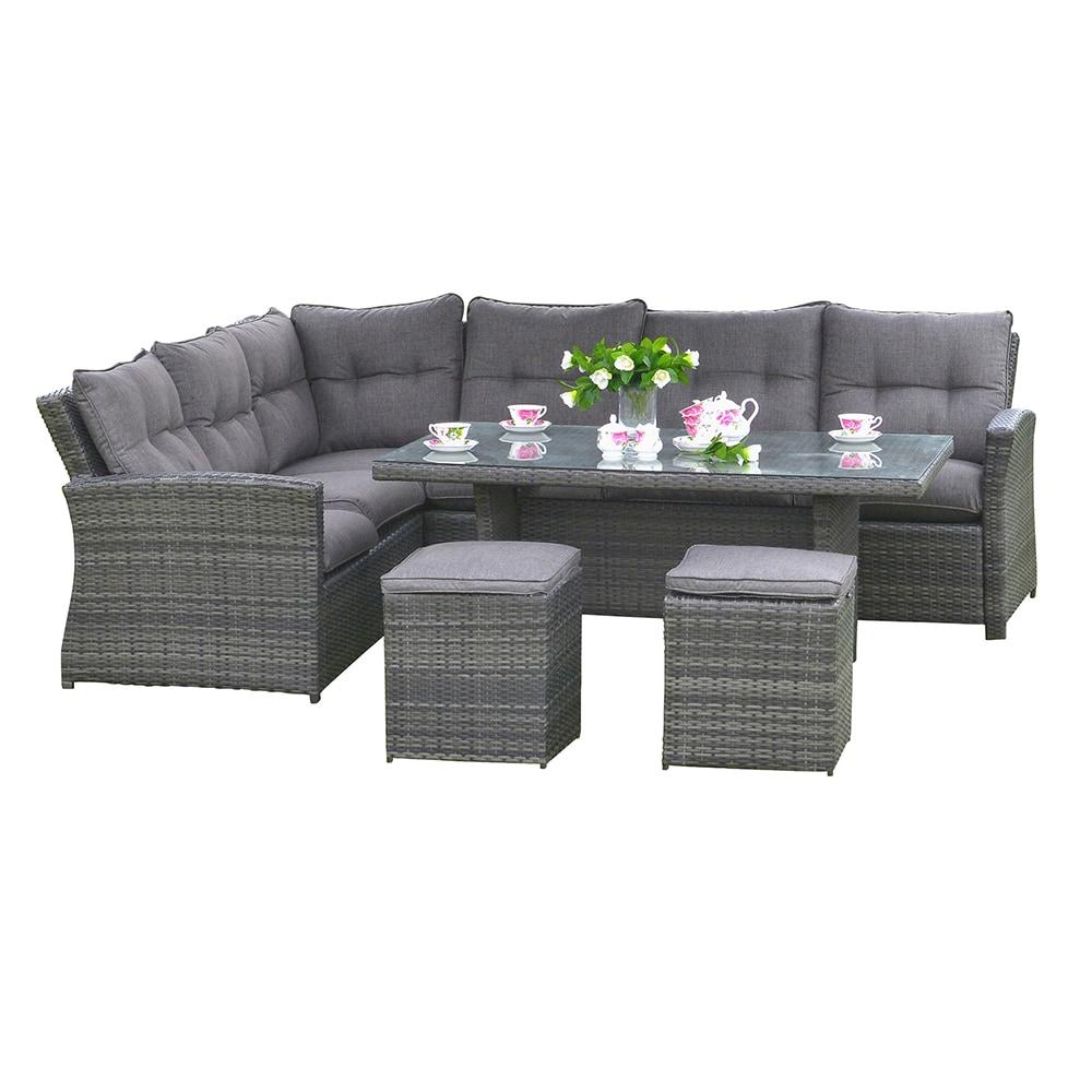 kontiki dining sets wicker rattan outdoor dining set jolie 5 piece dining set. Black Bedroom Furniture Sets. Home Design Ideas