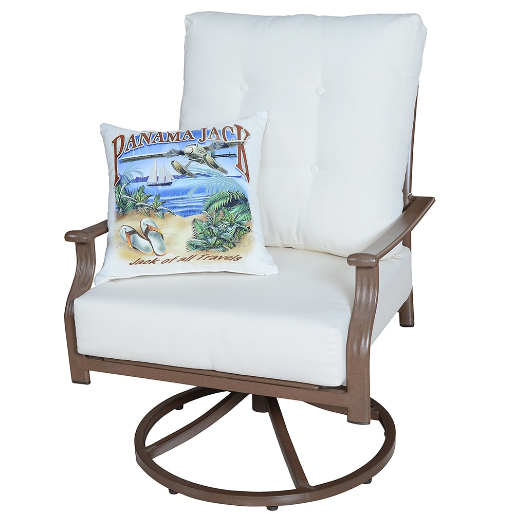 Panama Jack Island Breeze Collection Lounger With Cushion 1 Piece