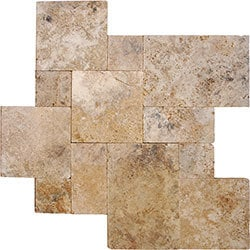 Cabot Travertine Pavers Pattern Sets Model 100897771 Outdoor Pavers