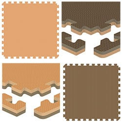 Brava Foam Rubber Tiles Premium Reversible Model 100953211 Specialty Flooring