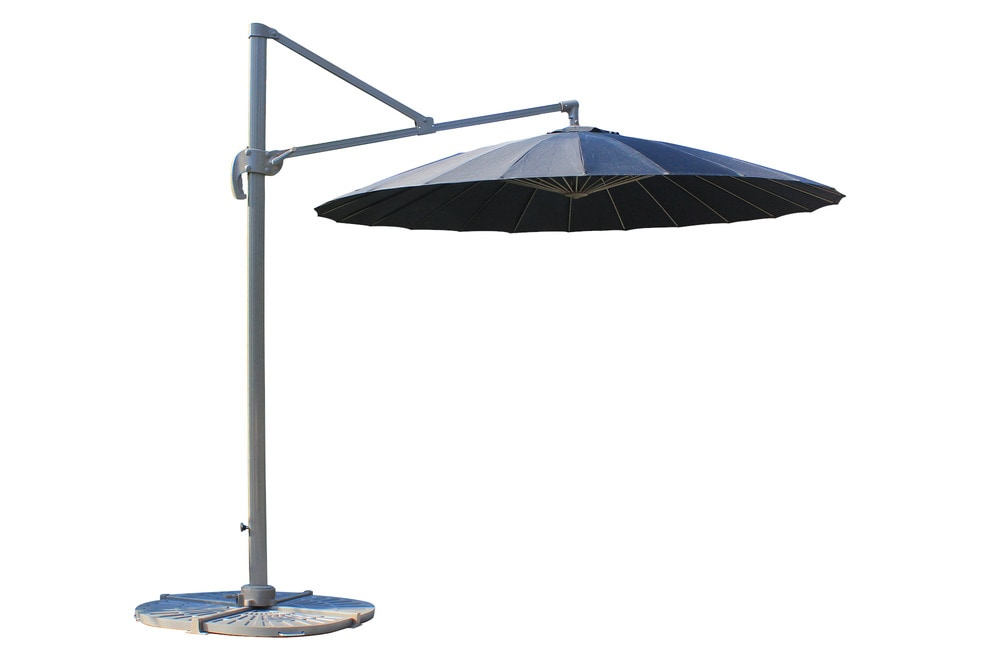kontiki shade cooling offset patio umbrellas 9 ft round