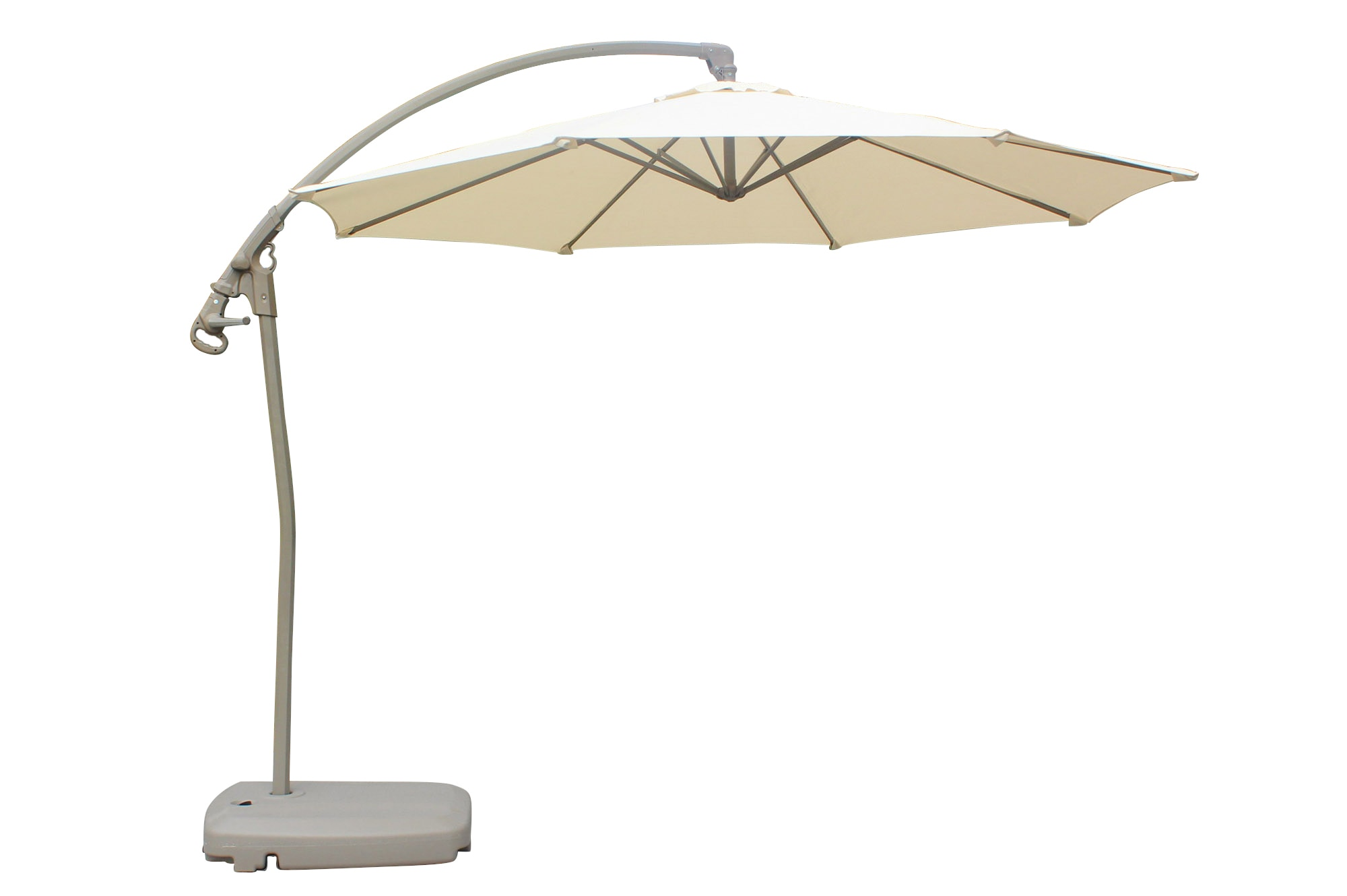 Offset Patio Umbrella With Base Shop D C America Beige