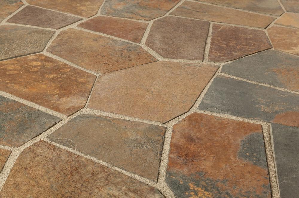 Marble Flooring Colors : Free samples roterra slate tile meshed back patterns