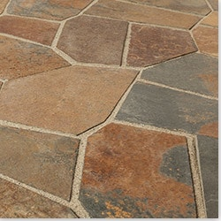 Roterra Slate Tile Meshed Back Patterns Model 100889521 Slate Flooring Tiles