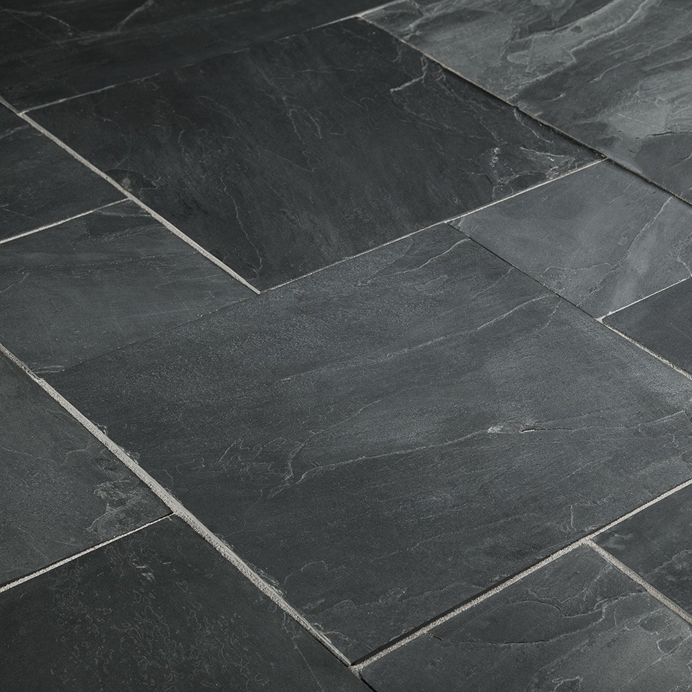 Black Slate Patter : Free samples roterra slate tiles carbon series indian