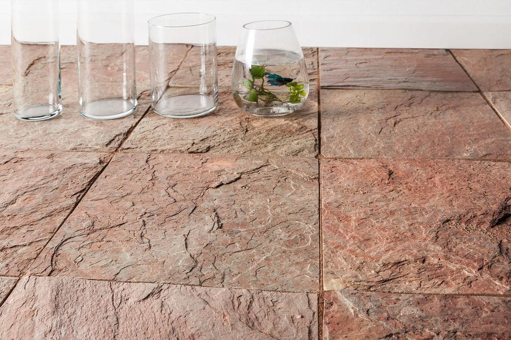 """- Copper Quartzite / 16""""x16""""x3/8""""-1/2"""" - sku:15001886"""