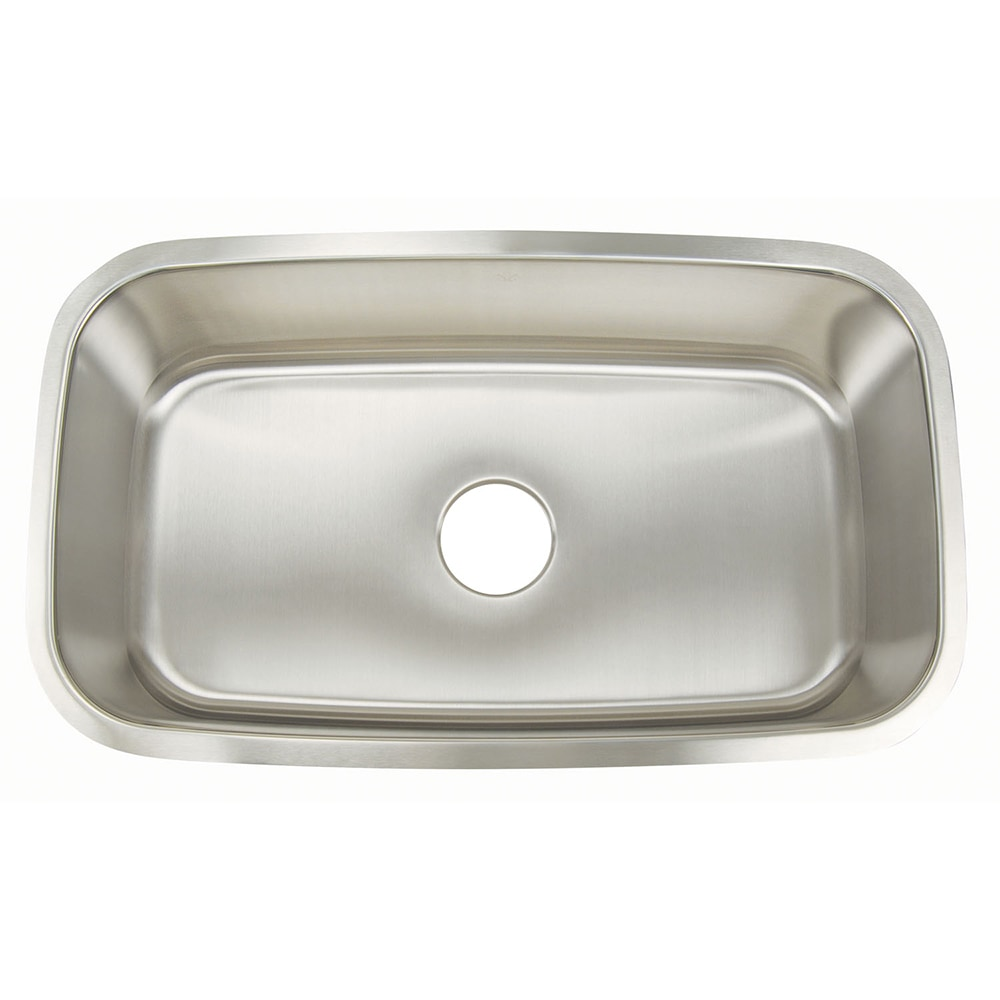 Stainless Steel Kitchen Sinks : Home Kitchen & Bath Sinks Stainless Steel Sinks All Products Large ...