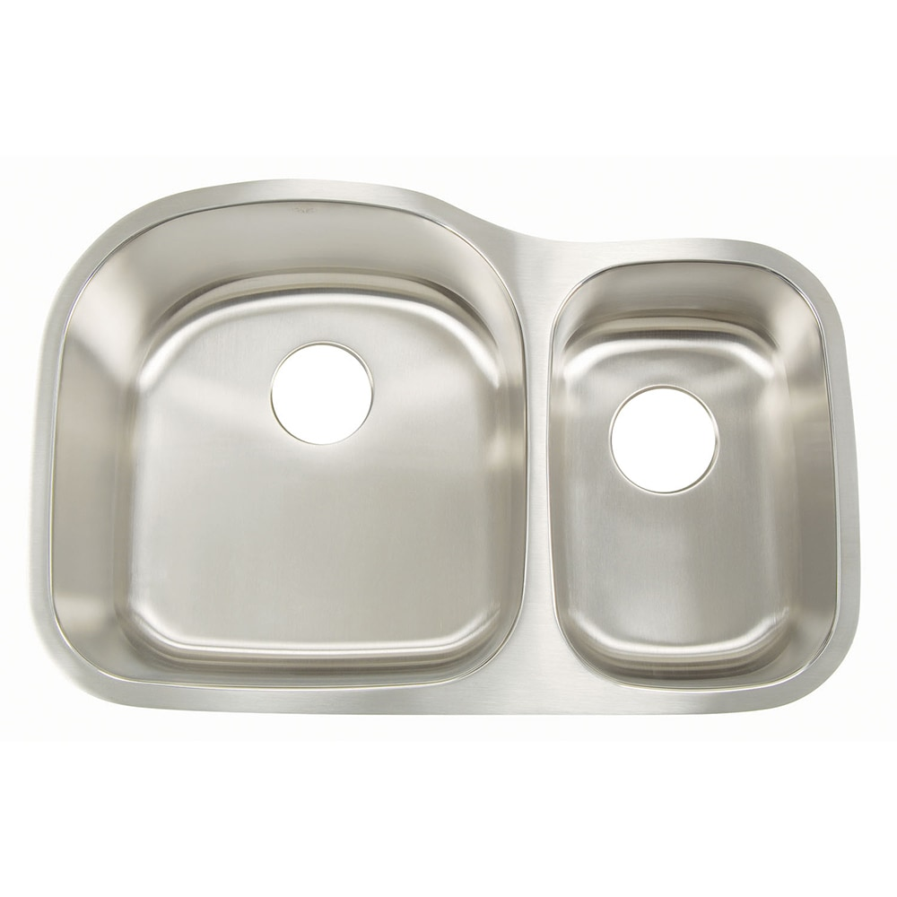 Small Kitchen Sinks Stainless Steel : Home Kitchen Kitchen Sinks All Products Big Bowl & Small Bowl L / 18G ...