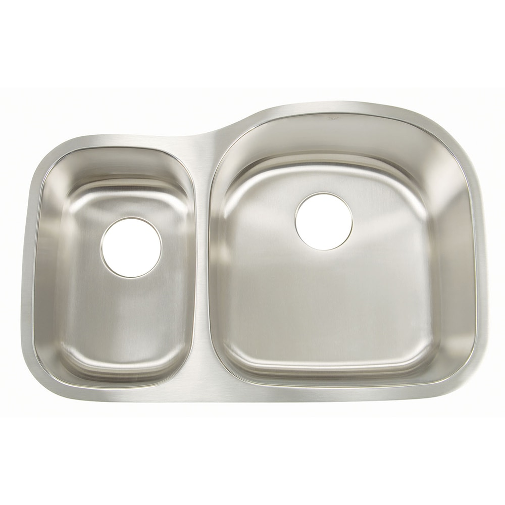 Small Kitchen Sinks Stainless Steel : Home Kitchen & Bath Sinks Kitchen Sinks All Products Big Bowl & Small...