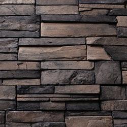 Kodiak Mountain Stone Manufactured Stone Veneer Frontier Ledge Type 150047641 Manufactured Stone Veneer in Canada