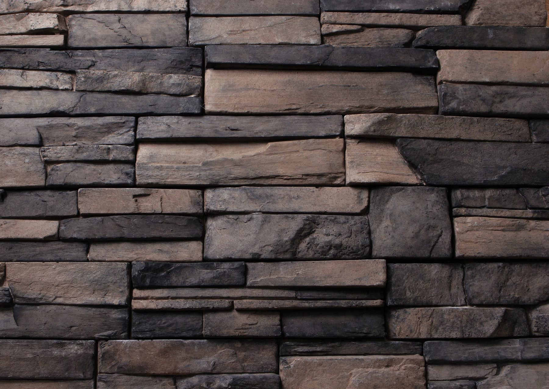 Kodiak mountain stone manufactured veneer frontier ledge for Stone facade siding