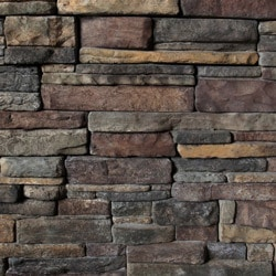 Manufactured Stone Veneer Kodiak Mountain Ready Stack Collection 10 Sq Ft E Z Pack Manufactured Stone Veneer Type 150047431 in Canada