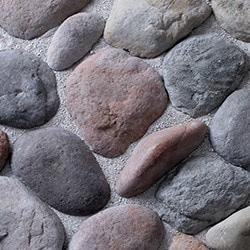 Kodiak Mountain Stone Kodiak Mountain Manufactured Stone Veneer River Rock Type 150047991 Manufactured Stone Veneer in Canada