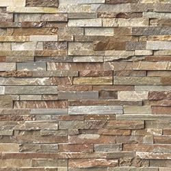MS International Stone Siding Quartzite Slate Golden White Model 150022801 Stone Siding