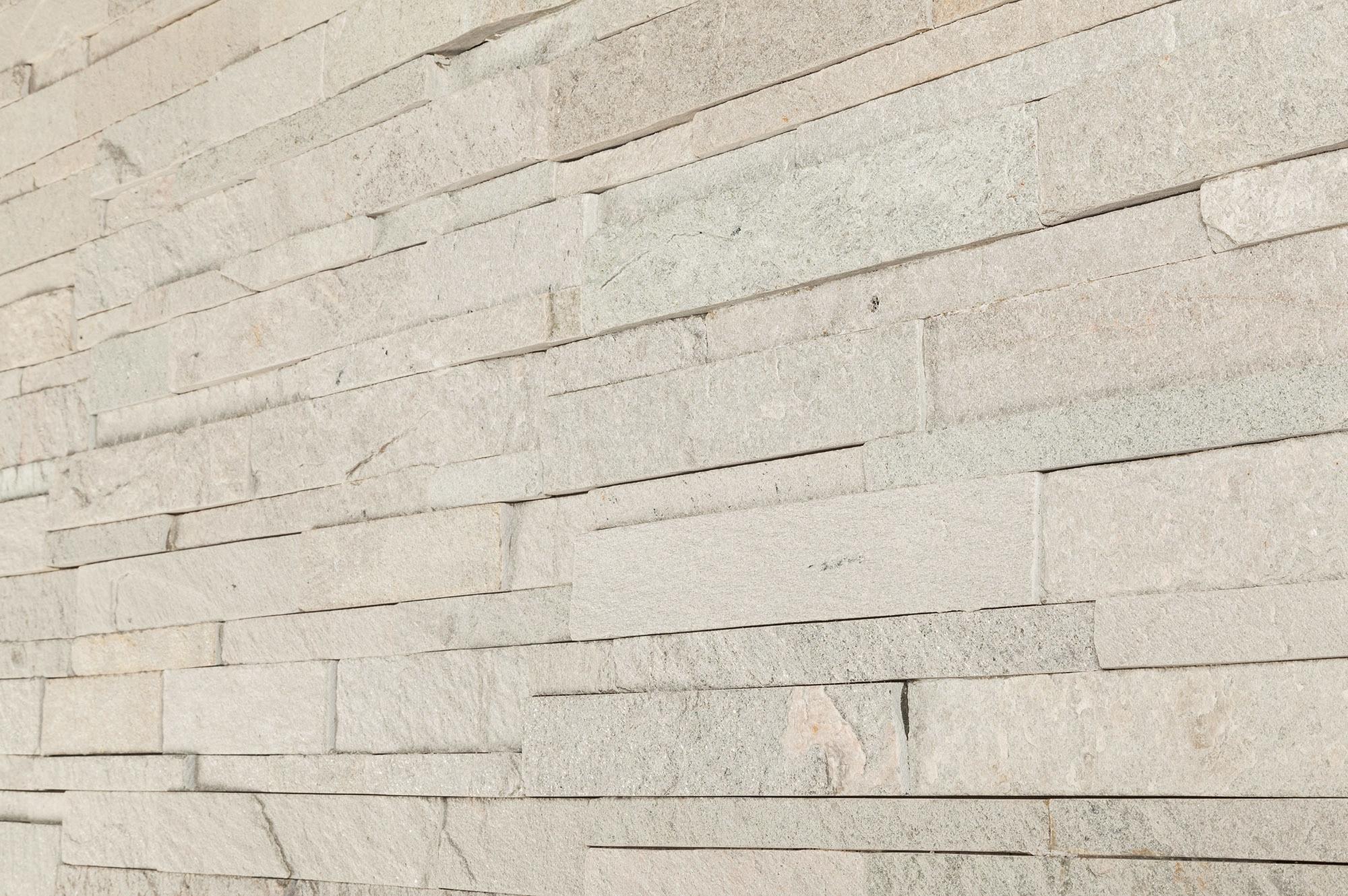 Roterra Stone Siding Quartzite Collection Pure White