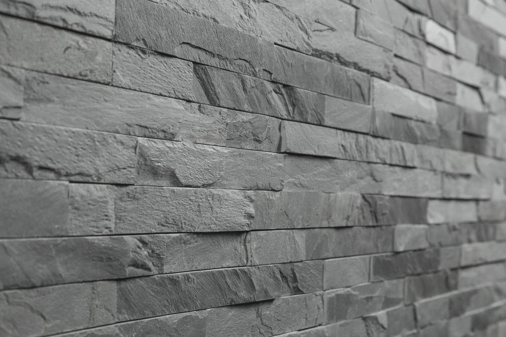 Roterra Stone Siding Slate Collection Black Slate Thin