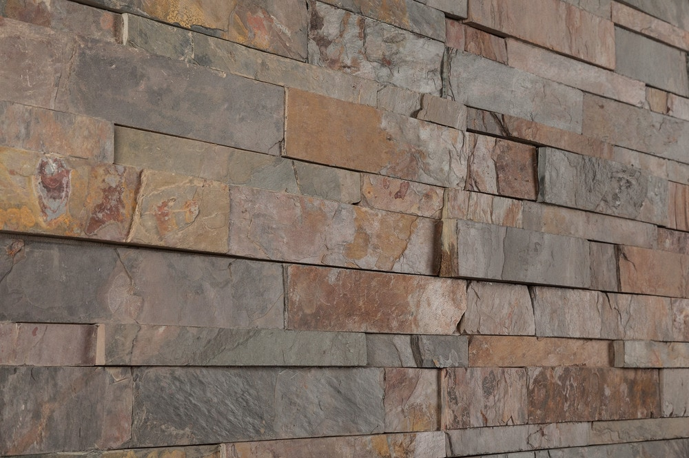 Roterra Stone Siding Slate Collection California Gold
