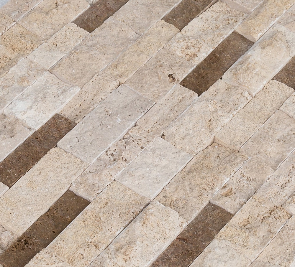 Roterra Stone Siding Travertine Collection Beige Noche